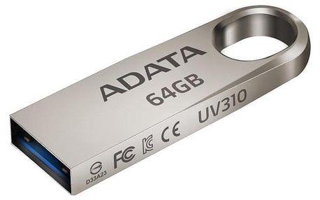 ADATA UV310 64GB kovový (AUV310-64G-RGD)