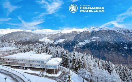 5denní Marilleva/Folgarida se skipasem | Hotel Sole Alto*** | Doprava, ubytování, polopenze a skipas