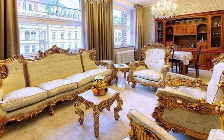 Apartmány v centru Karlových Varů
