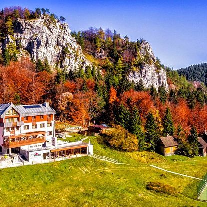 Podzim v NP Velká Fatra: polopenze a wellness