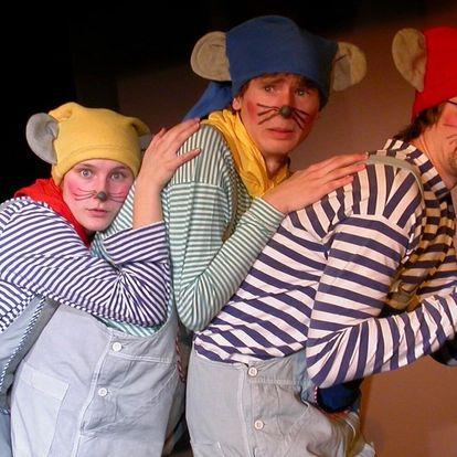 Vstupenka na představení Myšáci jsou rošťáci