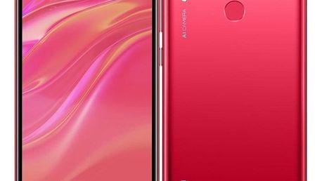 Huawei Y7 2019 Dual SIM červený (SP-Y719DSROM)