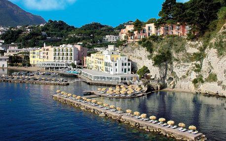 Itálie - Ischia na 8 dní, snídaně s dopravou letecky z Prahy