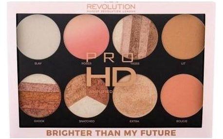 Makeup Revolution London Pro HD Amplified Palette 32 g paletka rozjasňovačů pro ženy Better Than My Future