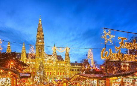 Výlet autobusem do adventní Vídně