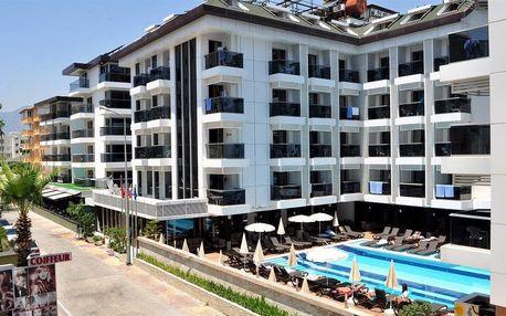 Turecko - Alanya na 8 až 10 dní, all inclusive nebo ultra all inclusive s dopravou letecky z Prahy