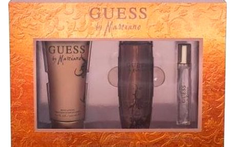 GUESS Guess by Marciano dárková kazeta pro ženy toaletní voda 100 ml + toaletní voda 15 ml + tělové mléko 200 ml