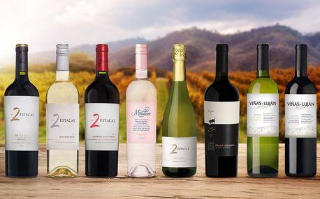 Sety vín z Argentiny: 2–4 lahve k podzimní pohodě
