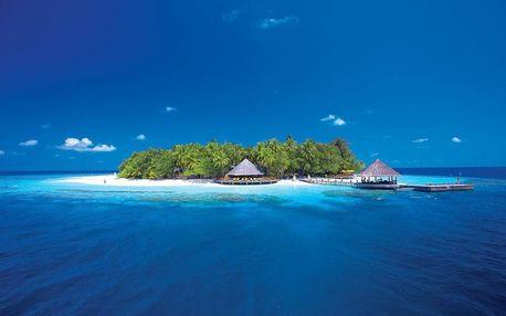 Maledivy - Severní Atol Male na 9 dní, snídaně s dopravou letecky z Prahy
