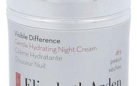 Elizabeth Arden Visible Difference Gentle Hydrating 50 ml hydratační noční krém pro suchou pleť pro ženy