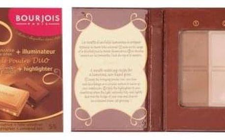 BOURJOIS Paris Delice De Poudre Duo 16,5 g duo bronzeru a rozjasňovače pro ženy 55