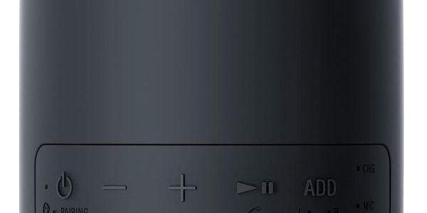 Přenosný reproduktor Sony SRS-XB12 černý4