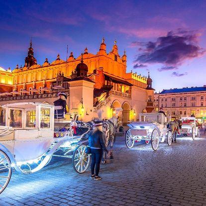 Adventní Krakov s odjezdy z Moravy či Slezska