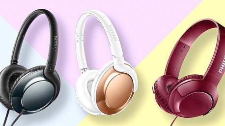 Sluchátka Philips: přes hlavu i bezdrátová