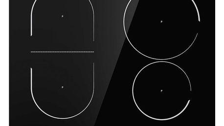 Indukční varná deska Mora VDIT 653 FF černá + dárek
