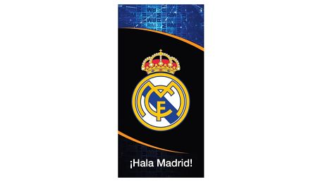 TipTrade Osuška Real Madrid Dark, 70 x 140 cm