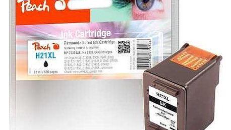 Peach HP 21 XL,520 stran, kompatibilní černá (313168)