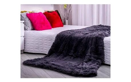 Domarex Deka XXL / Přehoz na postel Corona šedá, 200 x 220 cm , 220 x 200 cm