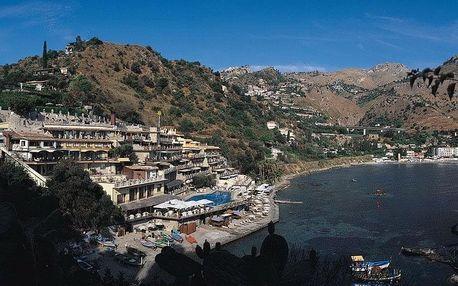 Itálie - Sicílie na 8 dní, polopenze s dopravou letecky z Prahy