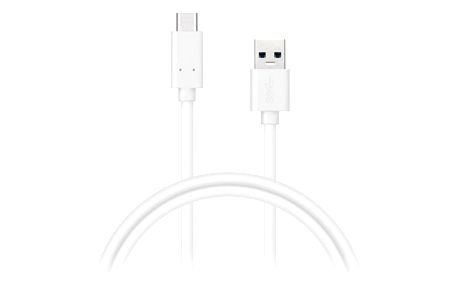 Kabel Connect IT USB/USB-C, 2 m bílý (CI-1179)