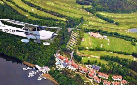Zažijte let letadlem Bristell nebo Cessna 172