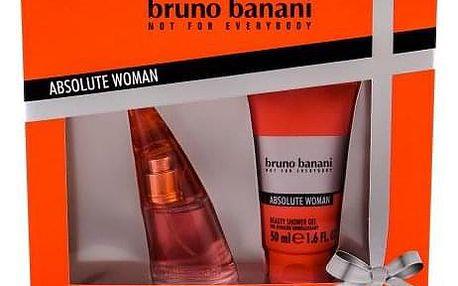 Bruno Banani Absolute Woman dárková kazeta pro ženy toaletní voda 20 ml + sprchový gel 50 ml