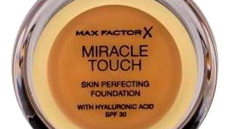 Max Factor Miracle Touch Skin Perfecting SPF30 11,5 g vysoce krycí make-up pro ženy 085 Caramel