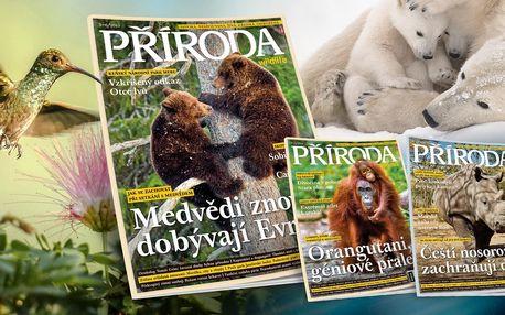 Časopis Příroda: kompletní ročník 2019 s bonusy
