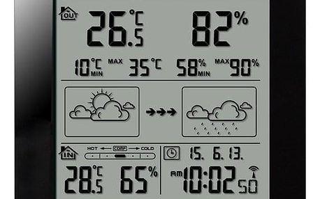 Meteorologická stanice Hyundai WS 2244 B černá