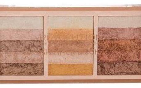 Makeup Revolution London Shimmer Brick 12 g paletka rozjasňovačů pro ženy