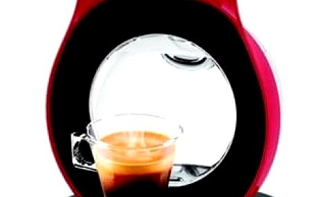 Espresso Krups NESCAFÉ Dolce Gusto Lumio KP130531 červené + dárek