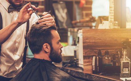 Barber shop: Módní pánský střih či úprava vousů