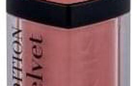 BOURJOIS Paris Rouge Edition Velvet 7,7 ml matná dlouhotrvající rtěnka pro ženy 28 Chocopink