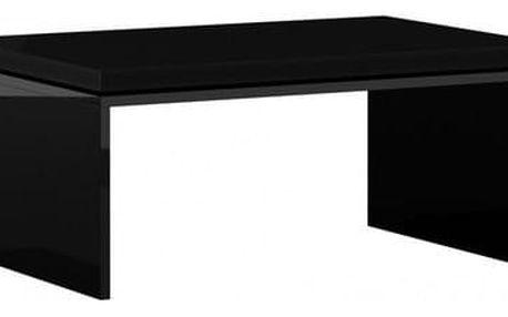 Konferenční stolek LUX černý lesklý