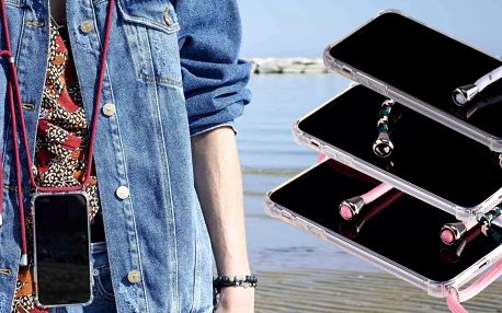 Obaly na iPhone, Huawei a Samsung s popruhem