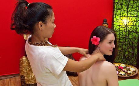 Relaxační balíčky: masáže obličeje a hlavy, zad a šíje, Garra Rufa