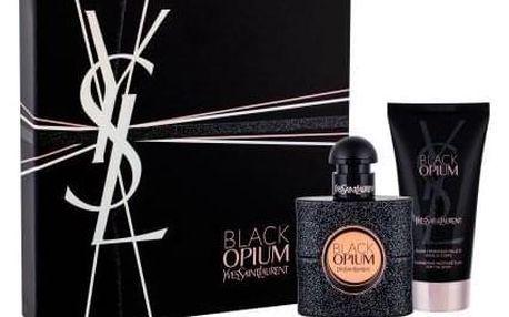 Yves Saint Laurent Black Opium dárková kazeta pro ženy parfémovaná voda 30 ml + tělová hydratační péče 50 ml