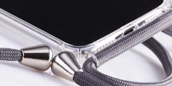 Obal na krk / crossbody - bílá | Typ: Iphone 5 / 5S / SE4