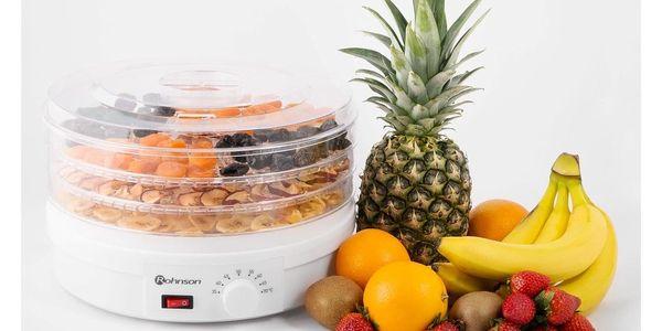 Sušička ovoce ROHNSON R-283 (443664) bílá2