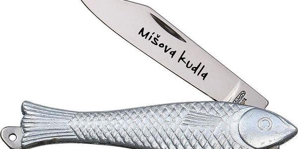 """Otevírací nůž """"Rybička"""" s rytinou vašeho textu5"""