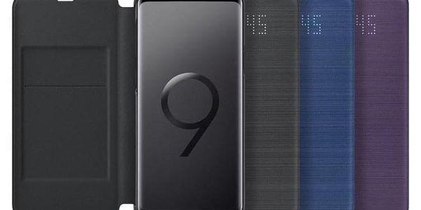 Pouzdro na mobil flipové Samsung LED View pro Galaxy S9+ černé (EF-NG965PBEGWW)4