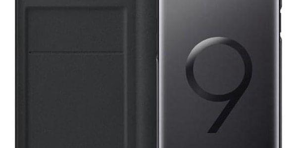 Pouzdro na mobil flipové Samsung LED View pro Galaxy S9+ černé (EF-NG965PBEGWW)5