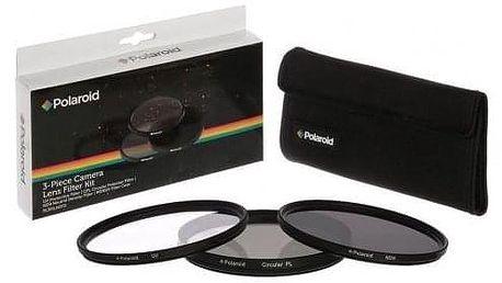 Polaroid 67mm (UV MC, CPL, ND9), set 3ks černý (PL3FILND67)