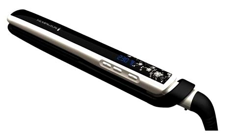 Žehlička na vlasy Remington S 9500 Pearl černá (198503)