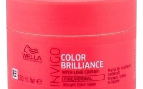 Wella Invigo Color Brilliance 150 ml maska na barvené jemné a normální vlasy pro ženy