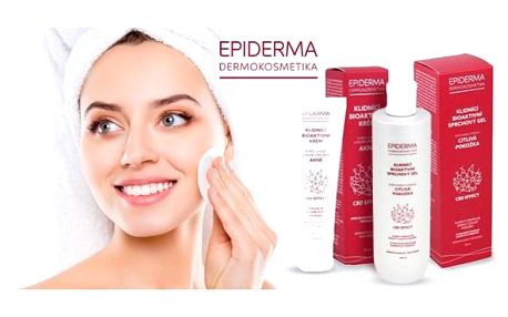 Přírodní dermokosmetika Epiderma - proti akné