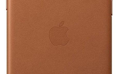 Kryt na mobil Apple Leather Case pro iPhone 11 Pro - sedlově hnědý (MWYD2ZM/A)