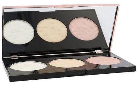 Makeup Revolution London Strobe Lighting Palette 11,5 g paletka 3 rozjasňovačů pro ženy