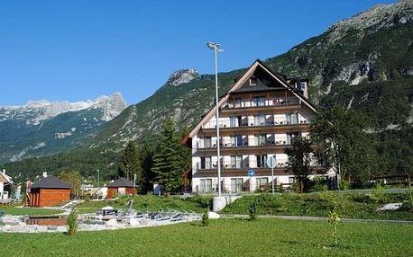 Hotel Mangart, Slovinsko, Hory a jezera Slovinska, Bovec