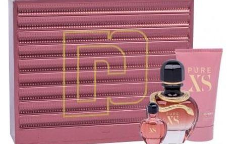 Paco Rabanne Pure XS dárková kazeta pro ženy parfémovaná voda 50 ml + tělové mléko 75 ml + parfémovaná voda 6 ml